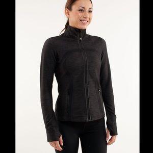 Lululemon Define Jacket Black Slub Denim / Black